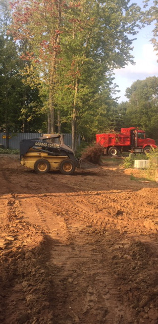 Gerber Topsoil LLC pond digging and filling